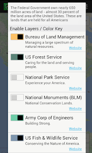 US Public Lands- screenshot thumbnail