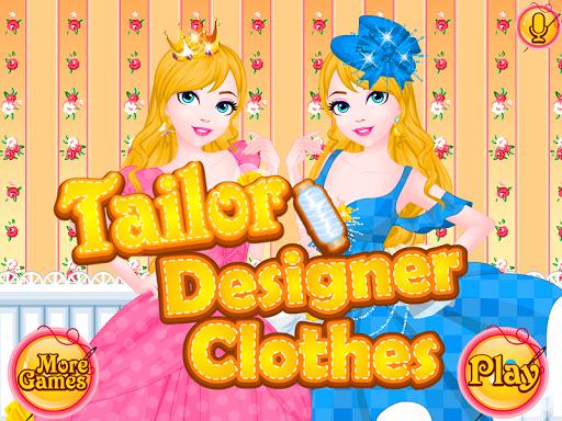 裁縫衣服的女孩遊戲
