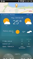 Screenshot of iPlaya: beach weather