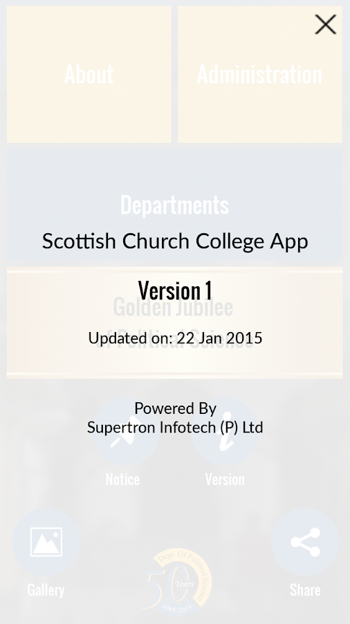 Scottish Church College- screenshot
