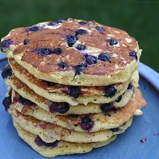 Blueberry Corn Pancakes