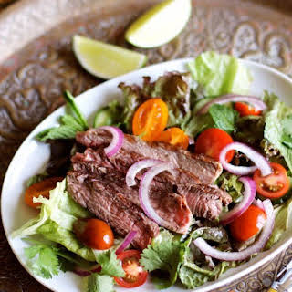 Thai Grilled Steak Salad.