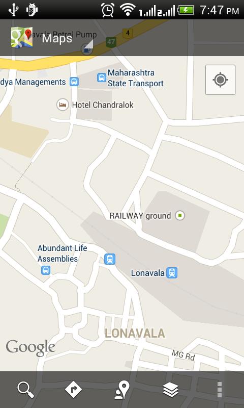 Pune Local Train Timetable - screenshot