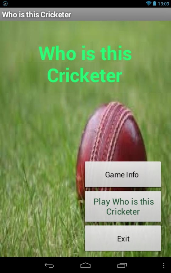 Who is this cricketer ? (Quiz) - screenshot