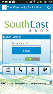 SouthEast Bank Mobile Banking - screenshot thumbnail