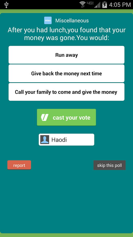 Votter: The Social Voting App- screenshot