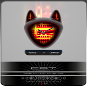 CAT V1 beautiful clock widget