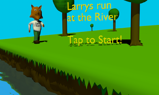 Larrys run at the river
