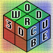 3D Word Cube Boggle Scrabble