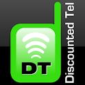 DiscountedTel -3G & WiFi Calls logo