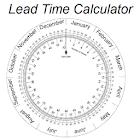 Lead Time Date Calculator icon