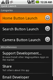 Quick Launch (App Launcher) - screenshot thumbnail
