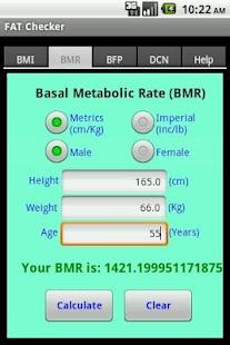 Body FAT Checker- screenshot thumbnail