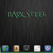 DarkSteel Green Lite Go Theme