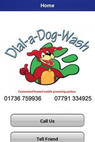 Dial a Dog Wash Cornwall