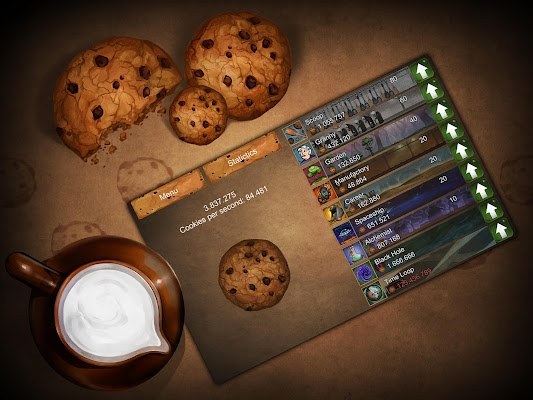 Tap the Cookie! - screenshot
