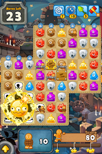 MonsterBusters: Match 3 Puzzle - screenshot thumbnail