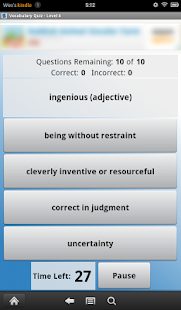English Vocabulary Level 4 - screenshot thumbnail