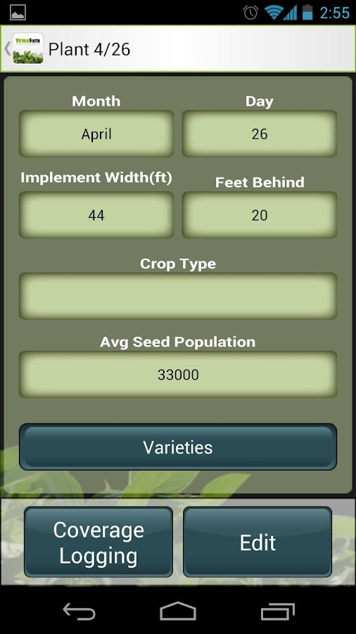 Virtual Farm Manager- screenshot