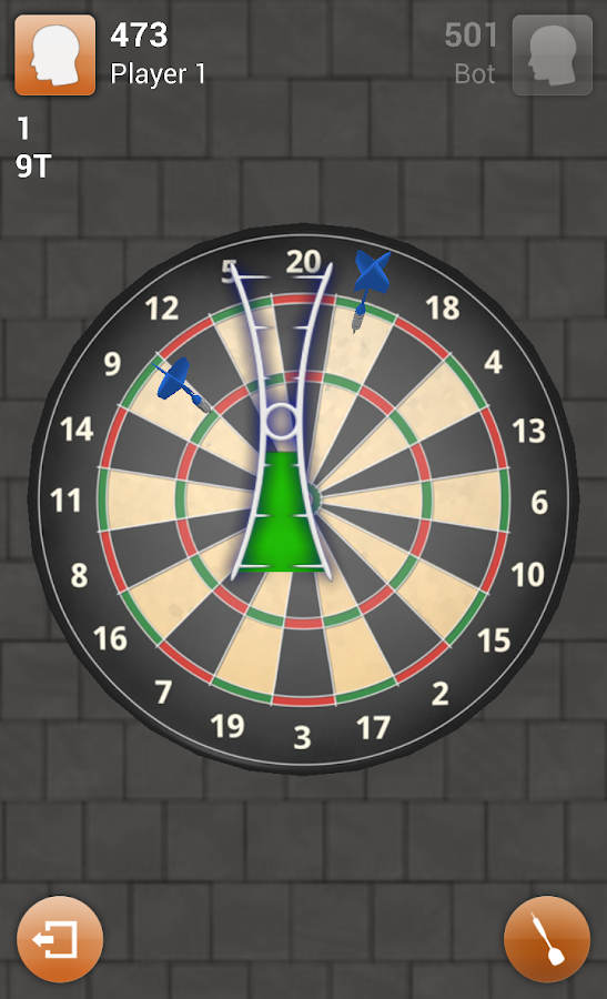 Darts 3D- screenshot