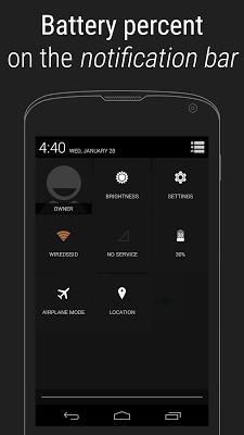 Battery Percent Unlock - screenshot