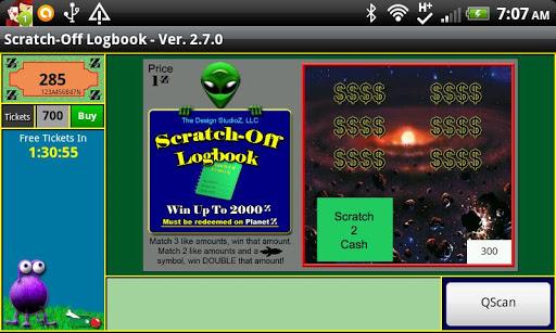 Scratch-Off Logbook