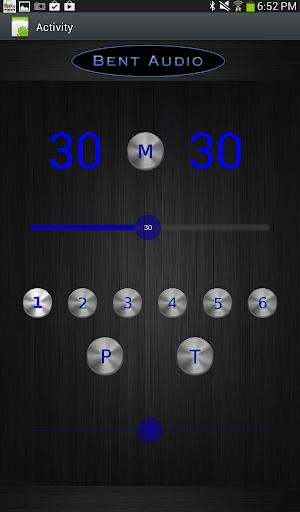 Bent Audio Remote