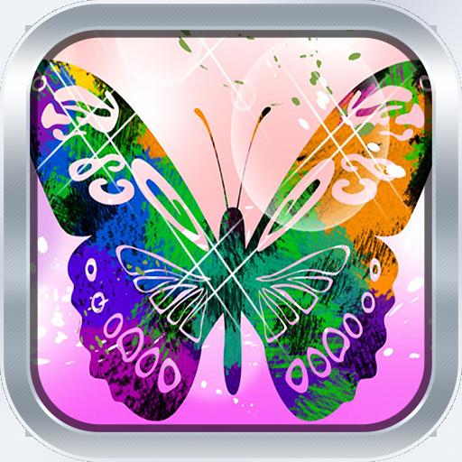3D Butterfly Live Wallpaper 程式庫與試用程式 App LOGO-APP試玩