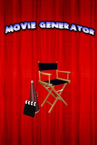 Movie Generator - screenshot