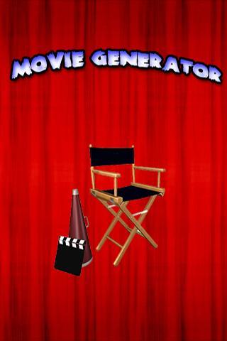 Movie Generator - screenshot
