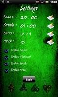 Screenshot of Holdem Poker Timer