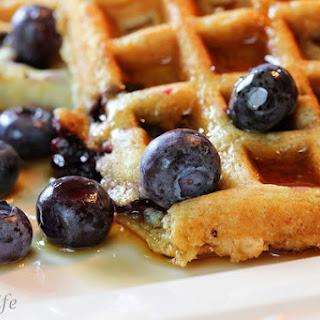 DIY Homemade Waffle Mix - AKA Hotel Waffles