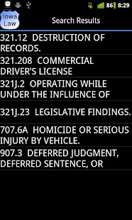Iowa Police Field Reference- screenshot thumbnail