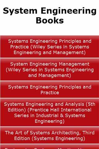 System Engineering Books