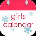 Girls Calendar ・・Period&Weight icon