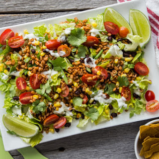 The Ultimate Vegan Taco Salad
