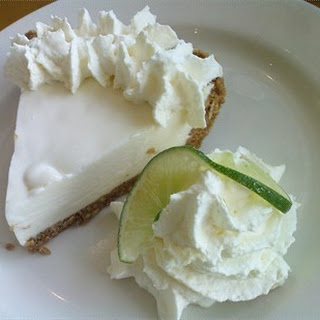 California Pizza Kitchen Key Lime Pie