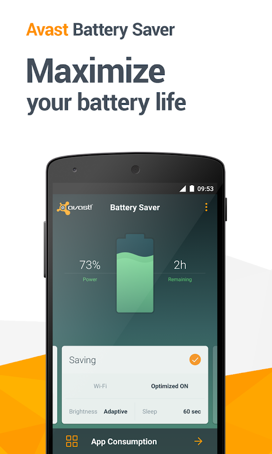 Avast Battery Saver - screenshot