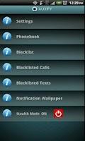 Screenshot of Auxify Call Blocker SMS Eraser