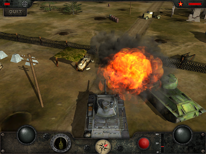Armored Combat - Tank War Hero- screenshot thumbnail