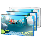 Parallax LWP: Angry Birds Go APK for Bluestacks