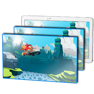 Parallax LWP: Angry Birds Go for Android