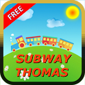 Subway Thomas Free Game Online icon
