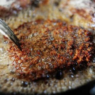 Fried Round Steak.