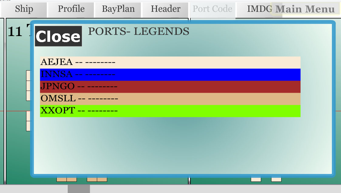 Ships container bayplan applications android sur google play for Container en francais