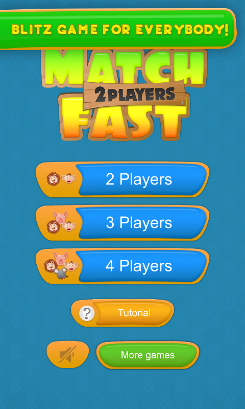 Match Fast: 2 Player Game - screenshot
