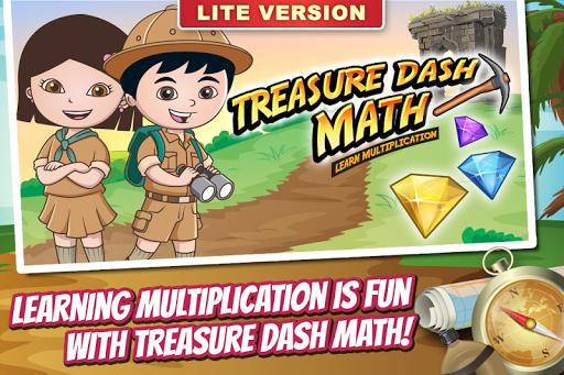 Treasure Dash Math Lite