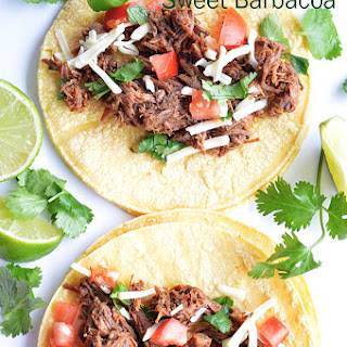 {Slow Cooker} Sweet Barbacoa