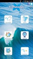 Screenshot of PrevisionApp   Surf y olas