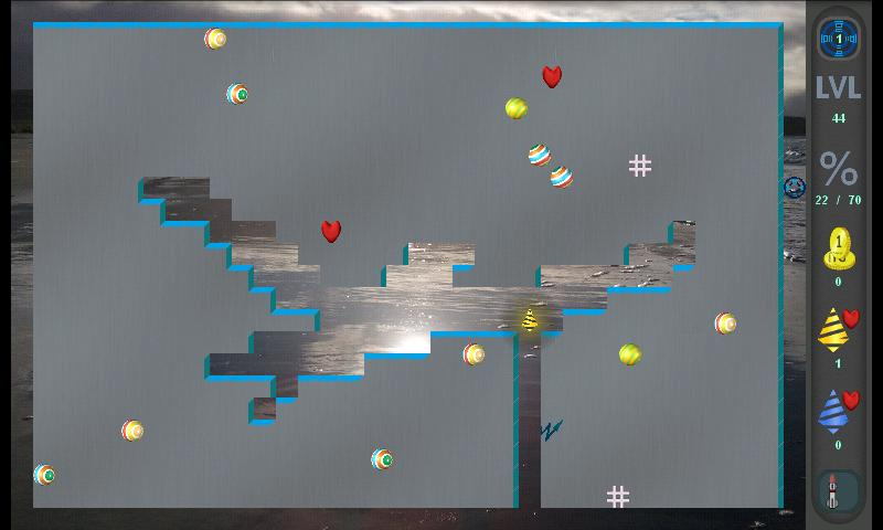 Xonix Blast - screenshot